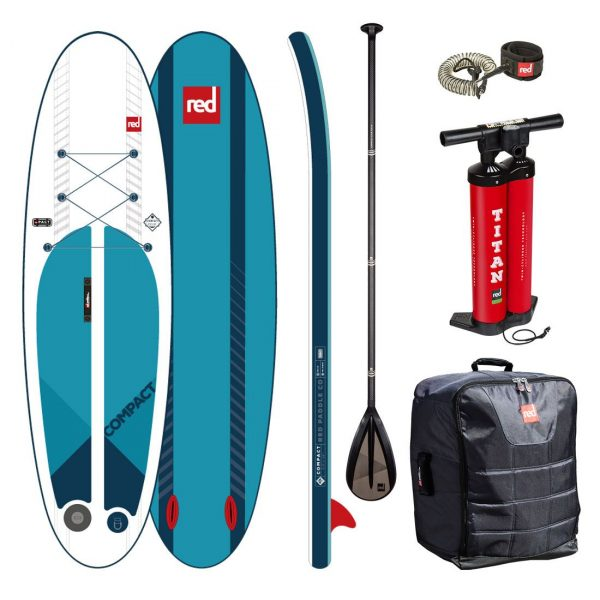 red paddle co compact 9-6 x 32 inflatable paddle board PACT technology best isup