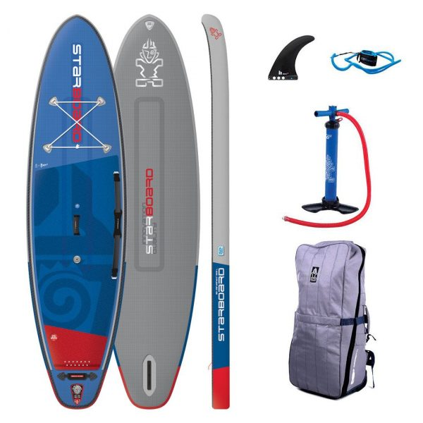 2019 starboard igo 10-8 x 33 deluxe inflatable paddle board sup green water sports
