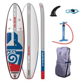 2019 starboard sup paddle board inflatable go best all round sup 10-8 x 33 green water sports