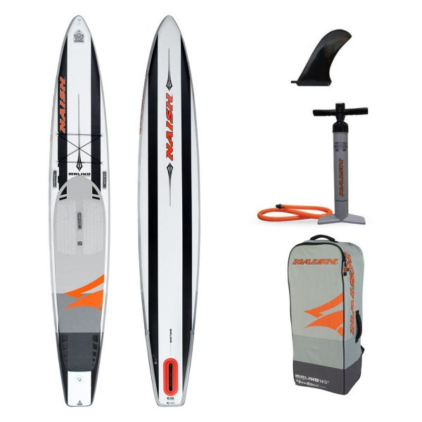 14×27 2020 naish 2019 inflatable stand up paddle board sup best race board maliko 14ft green water sports