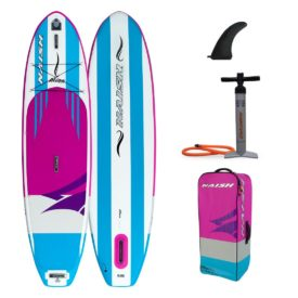 2020 naish alana 10-6 women girls inflatable stand up paddle board green water sports