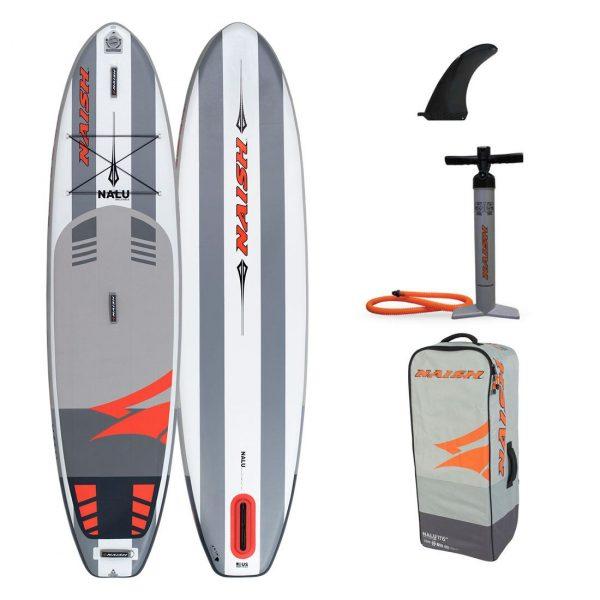 2020 naish inflatable nalu paddle board sup 11-6 green water sports