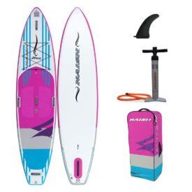 2020 naish inflatable paddle board alana touring sup 11-6 green water sports