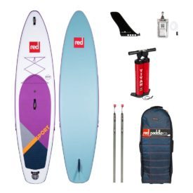 2020 red paddle co 11-3 sport special edition purple green water sports