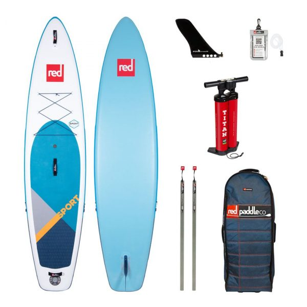2020 red paddle co 11 sport touring inflatable paddle board green water sports
