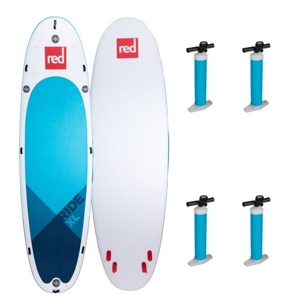 2020 red paddle co 17 ride xl giant paddle board for family sup fun inflatable green water sports